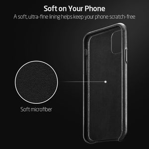 Luxurious Leather Protective casefor iPhone 11