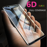 Screen Protector 6D Full Curved Glass For Samsung