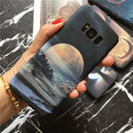 Amazing Moon Cases For Samsung Galaxy s7 s8 s9 Plus