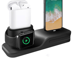 3 in 1 Charging stand For Iphone, Apple watch, and Airpods.