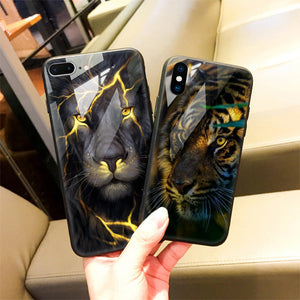 Cool Lion iPhone Case
