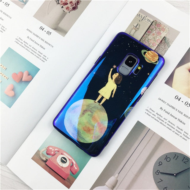 Blue Moon Case For Samsung