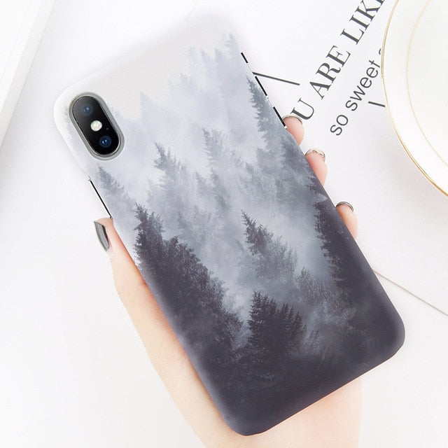 Beautiful nature case for all Iphones