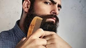Combing Your Beard with a Hair Brush