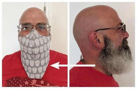 Issue with Beards and Face Masks