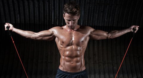 perfectly toned muscles