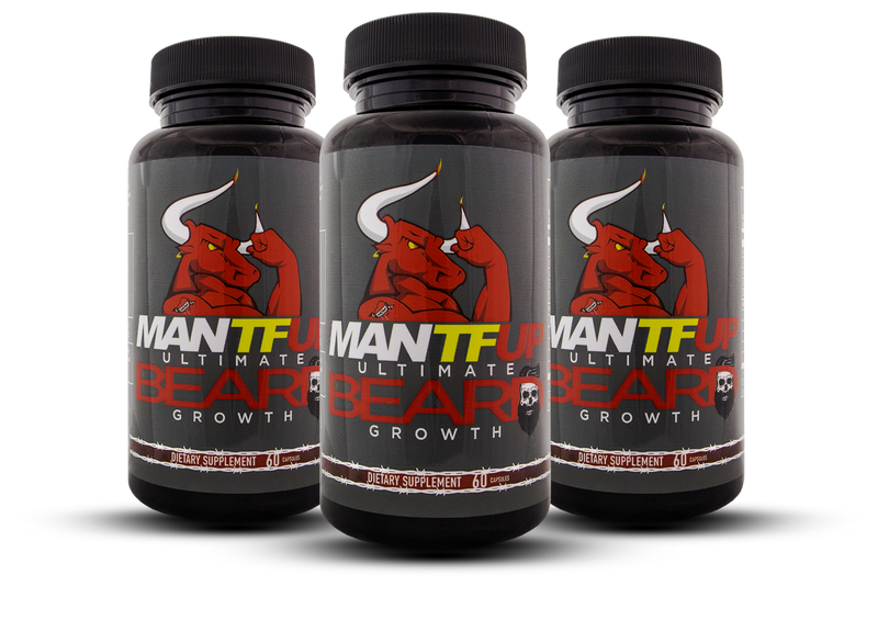 MANTFUP Beard Growth 3 PACK - Dynamism Labs