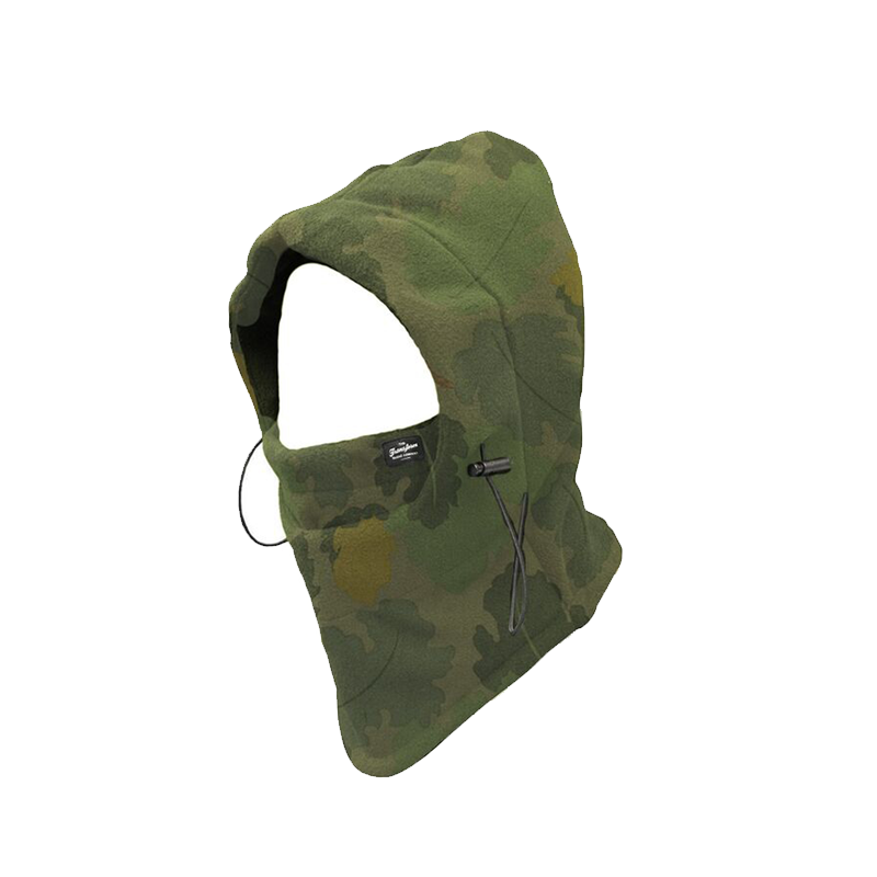 TRANSFORM GLOVES Villan Hooded Neckwarmer camo