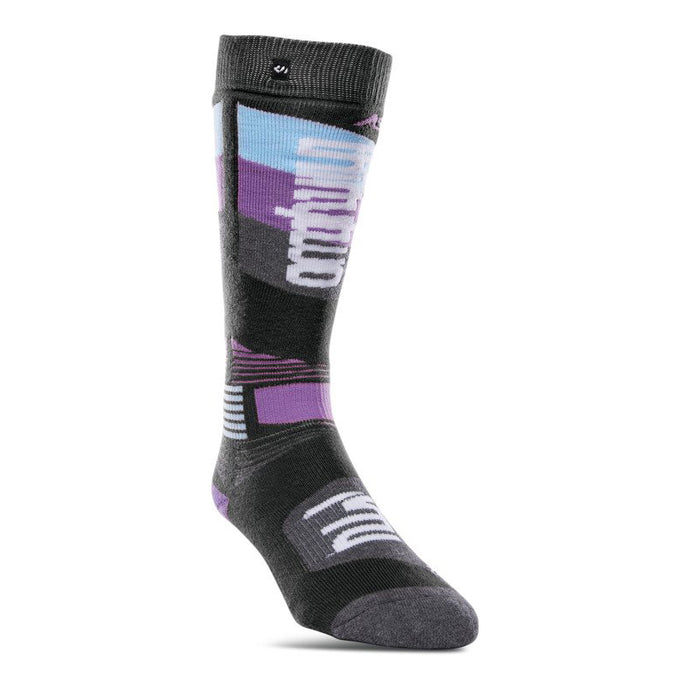 THIRTYTWO WOMEN'S ASI MERINO PERFORMANCE SOCK Black / Charcoal