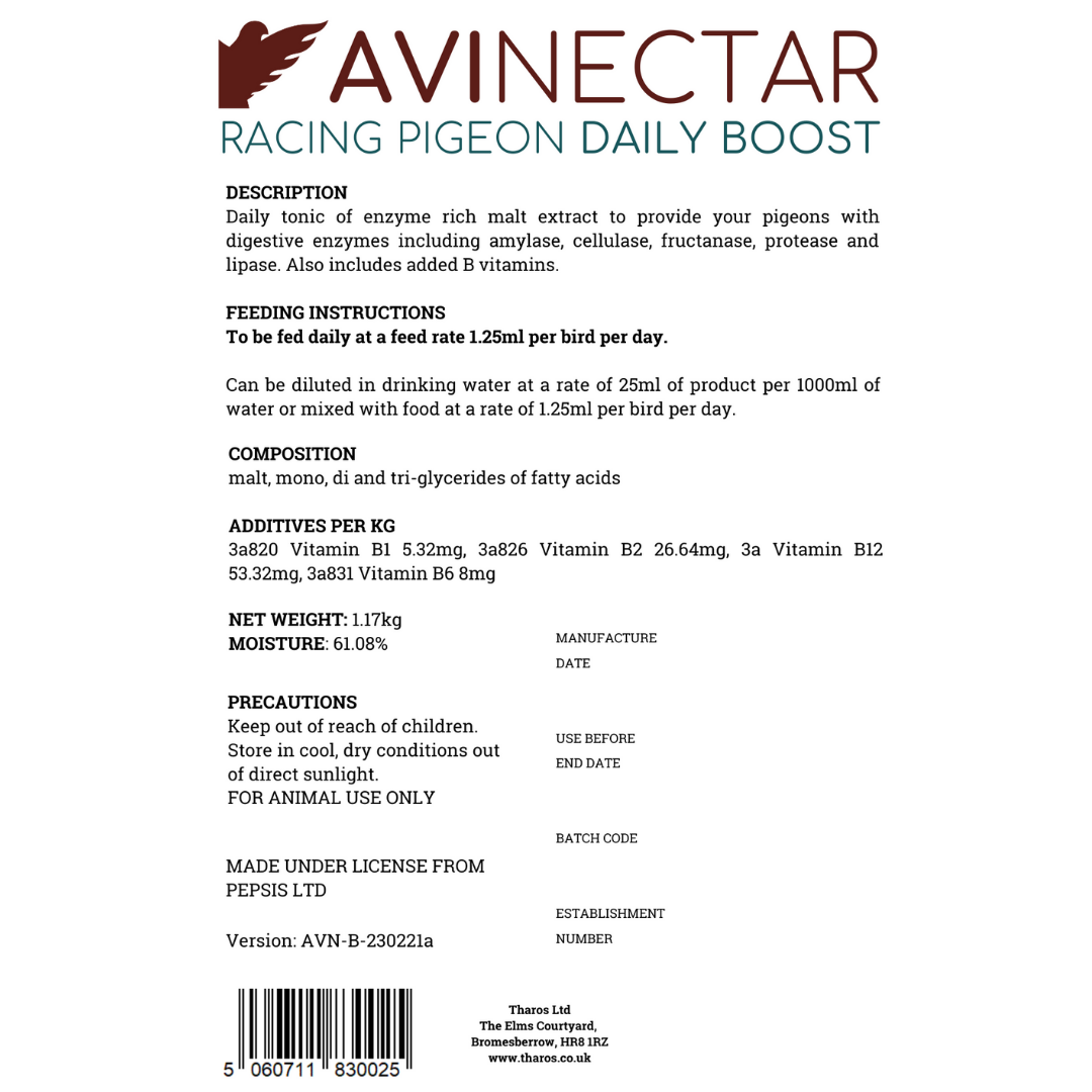 AviNectar Daily Boost - 1000ml