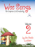 Wee Songs magical improv series elementary fun creative toadstool red cover