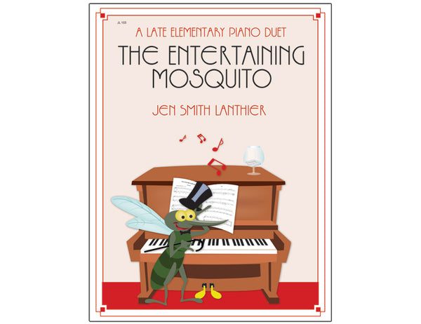 Entertaining Mosquito piano duet arrangement piano lounge mosquito top hat rag