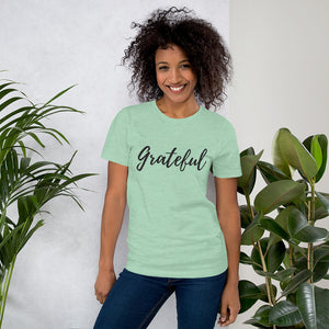 """Grateful"" Short-Sleeve Unisex T-Shirt"