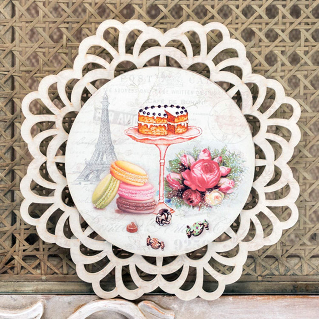 Macroons And Cake Trivet