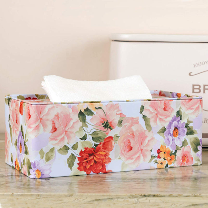 Japanese Floral Tissue Box