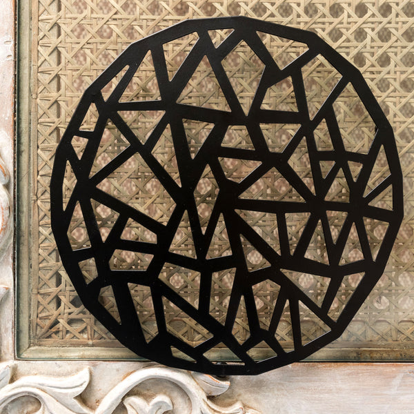 Abstract Design Trivet For Hot Vessels