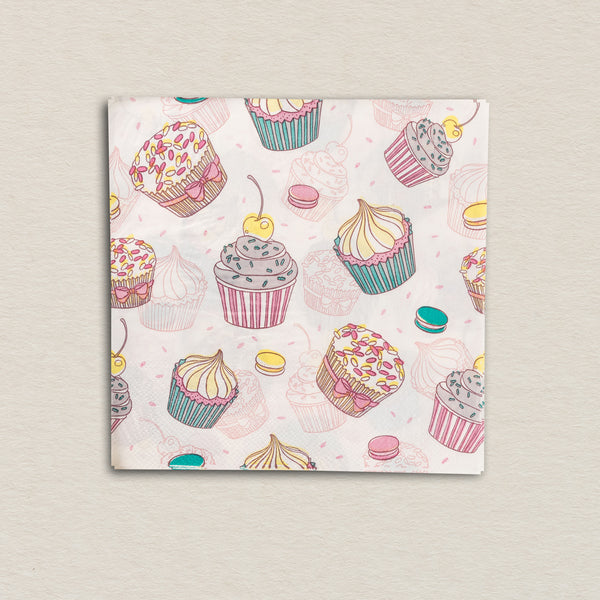 Cupcake Tissue Paper Pack (Set Of 20)