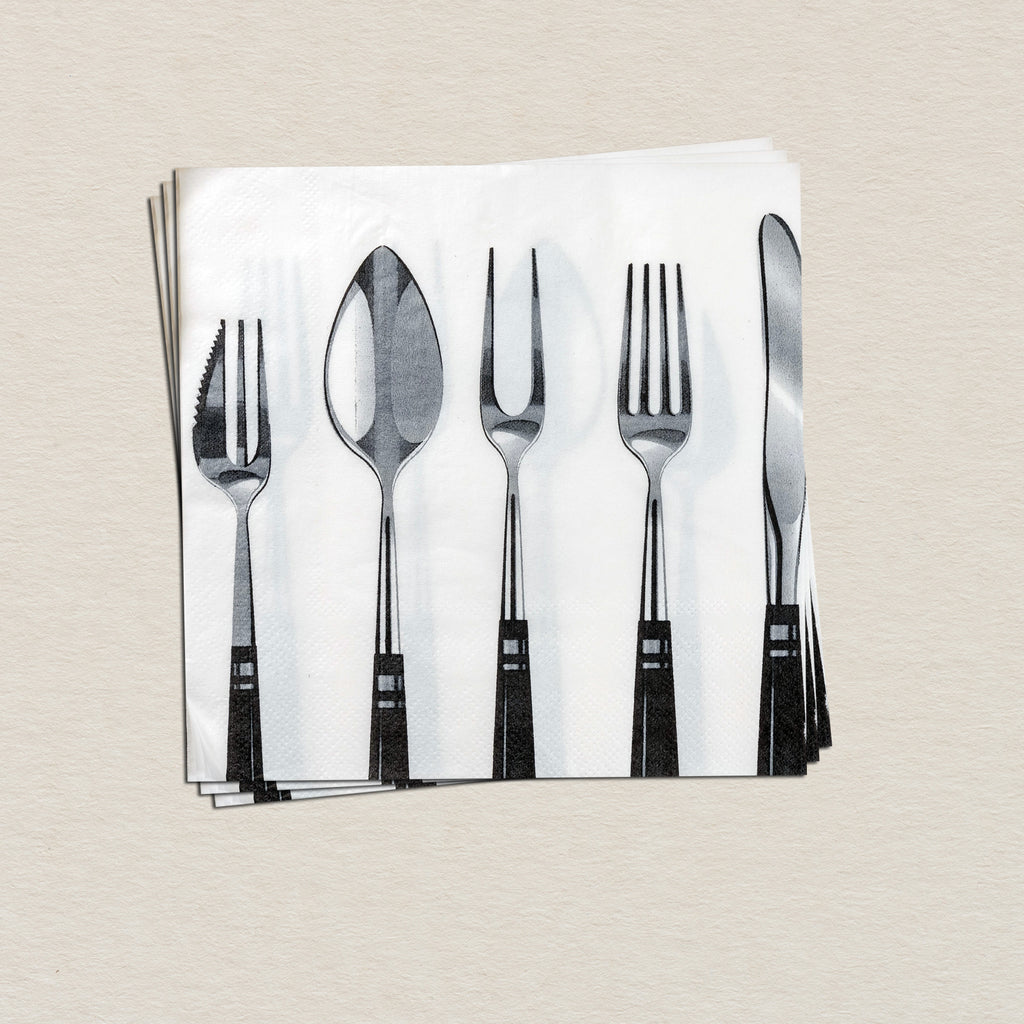 Spoon And Fork Tissue Paper Pack (Set Of 20)