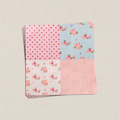 Classic Floral Tissue Paper Pack (Set Of 20)