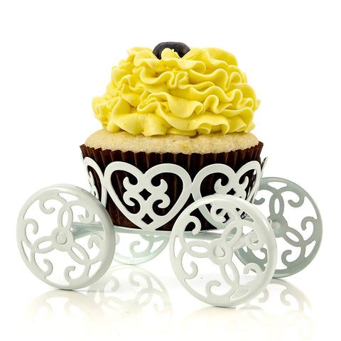 Princess Carriage Cute Cupcake Stand Holder