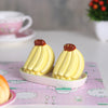 Bananas Salt and Pepper set with tray