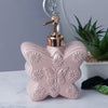 Large Butterfly Soap Dispenser - Soft Pink