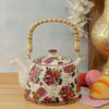 Vintage Roses Ceramic Tea Pot