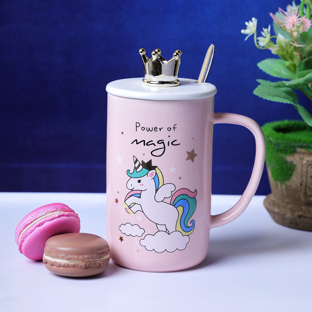 Pastel Pink Unicorn Mug - Power of Magic