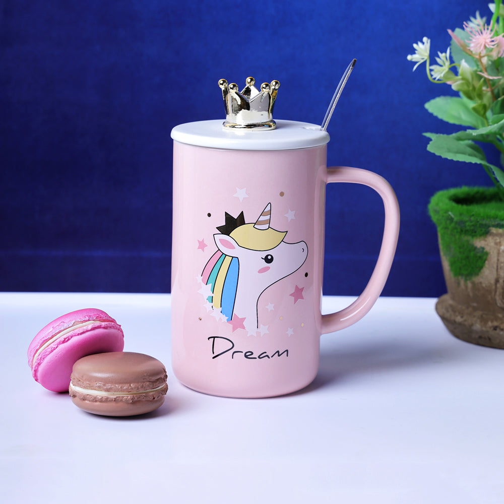 Pastel Pink Unicorn Mug - Dream