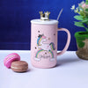 Pastel Pink Unicorn Mug - Rainbow Unicorn
