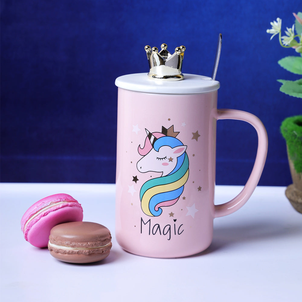 Pastel Pink Unicorn Mug - Magic
