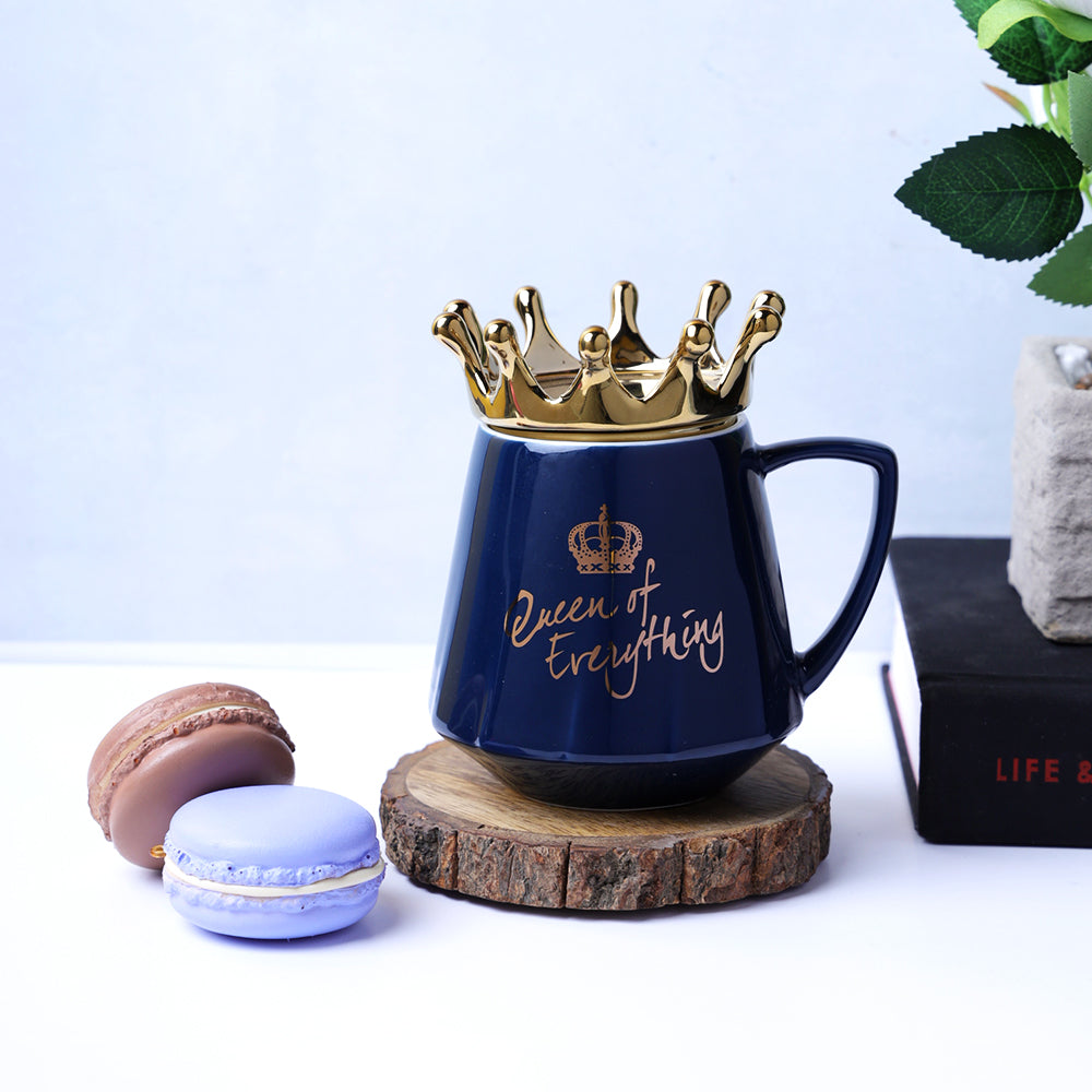 Queen of Everything Mug - Blue