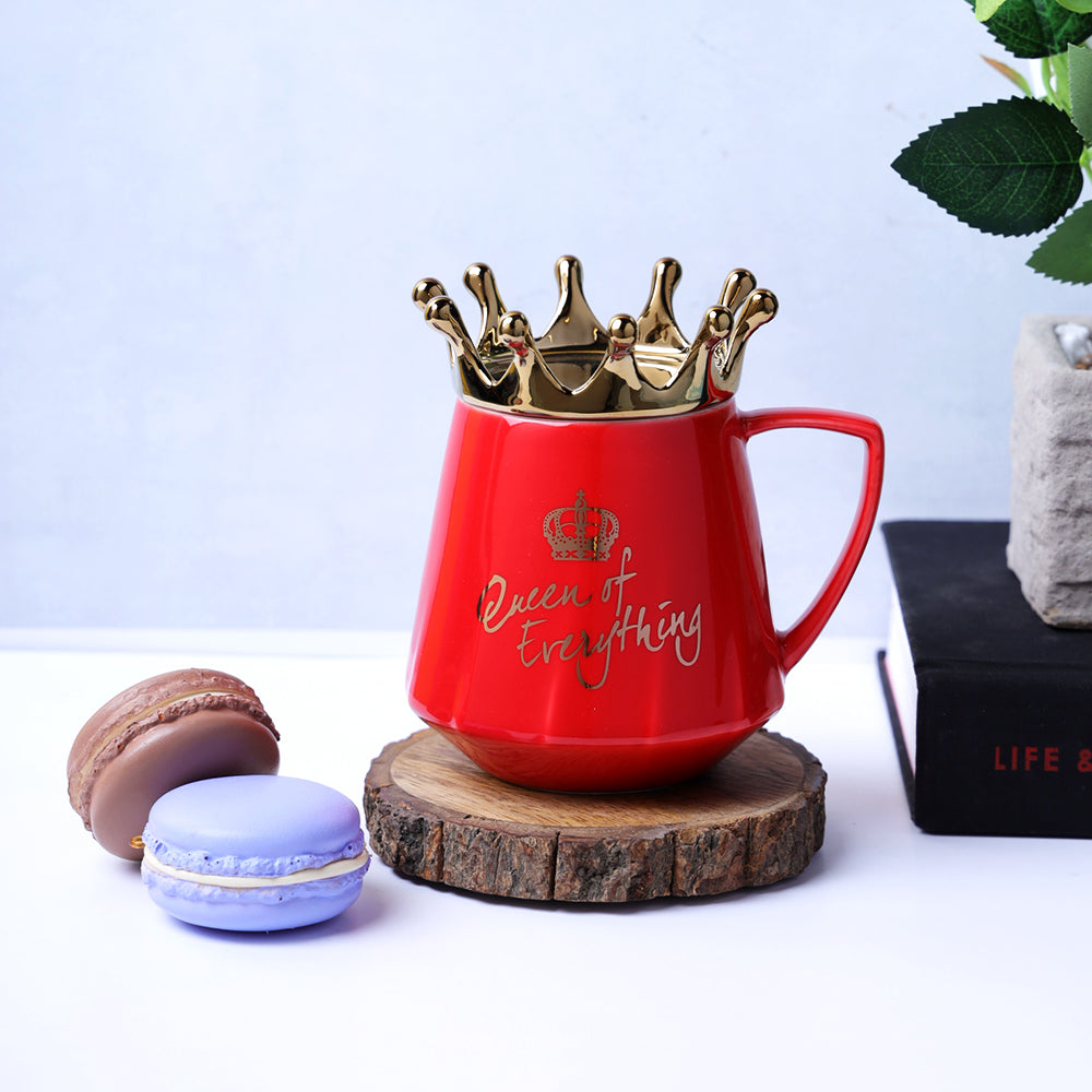 Queen of Everything Mug - Red