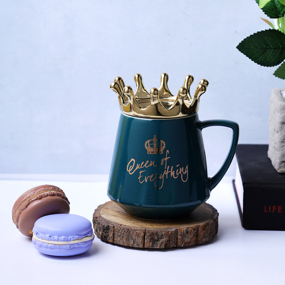 Queen of Everything Mug - Green