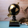 Vintage Globe Library Tabletop Accent - Black/Gold