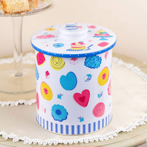 Cupcake Long Metal Tin