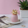 Pink Pineapple Trinket Dish
