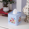 Square Happy Unicorn Tissue Box