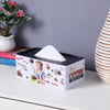 Rectangle Vintage English Tissue Box