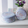 Round Sweet Dreams Unicorn Metal Tins (Set Of 2)