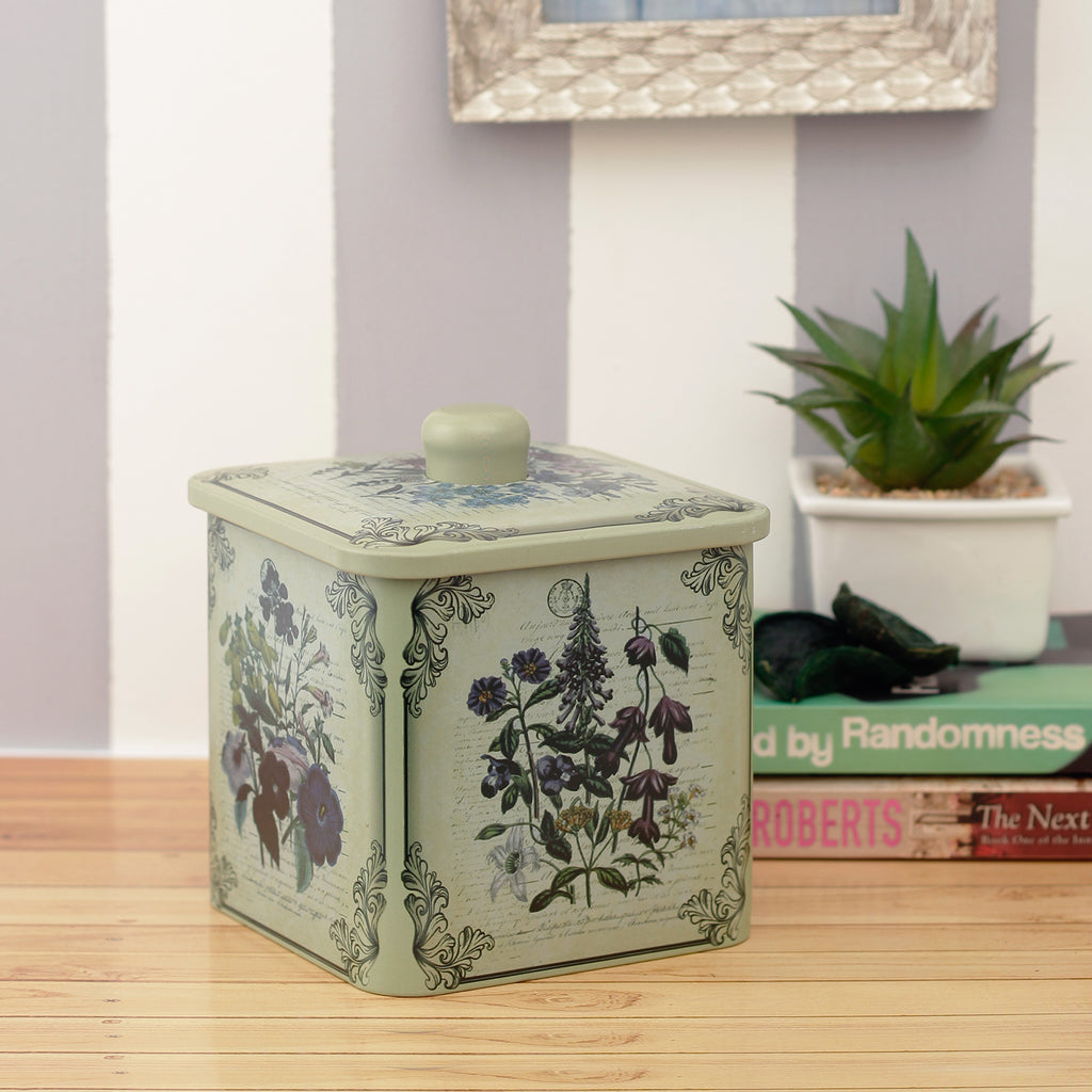 Enchanted Floral Decorative Storage Box