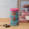 Retro Coffee Trinket Storage Organizer - Blue