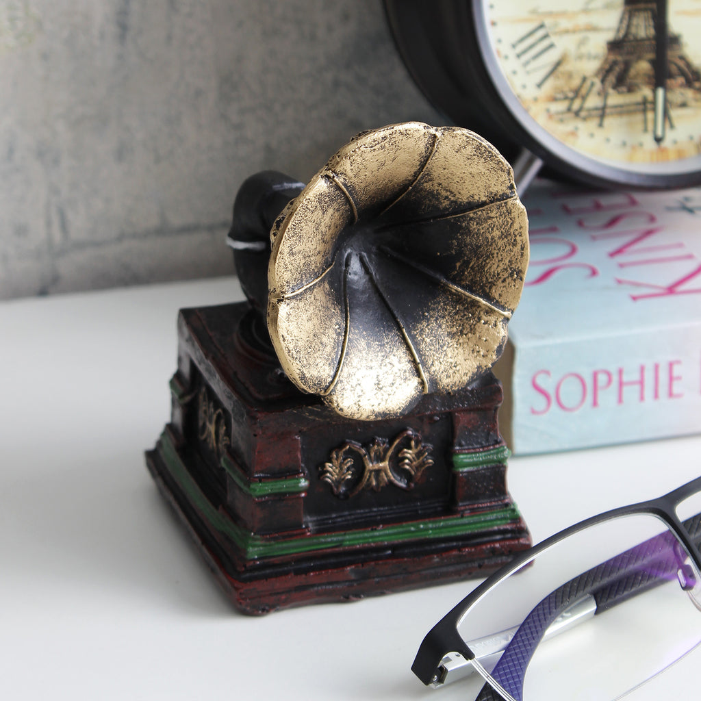 Vintage Gramophone Tabletop Accent