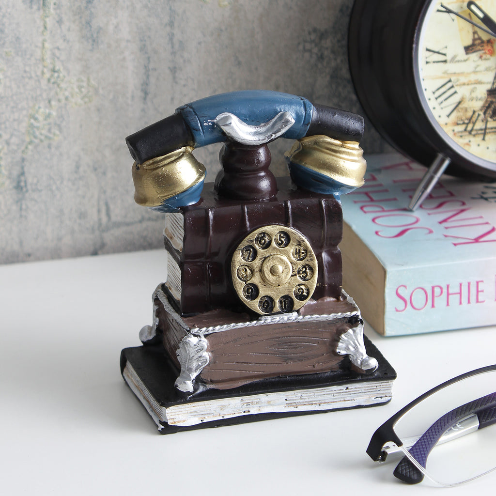 Vintage Telephone Tabletop Accent