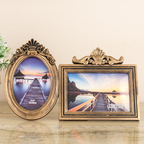 Copper Vintage 2-Piece Photo Frame