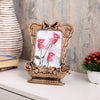 Copper Vase Photo Frame With Bow