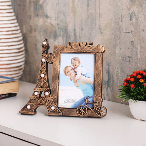 Paris Love Photo Frame with Lights