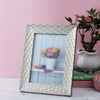 Leaf Pattern Bordered Photo Frame