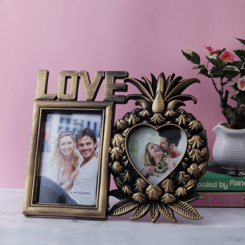 Pineapple Love 2-Picture Photo Frame