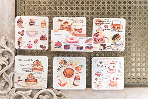 Cucpcake Design Coasters